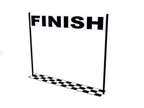 Finish Line Clipart aesop s fables 3d animation start and finish lines
