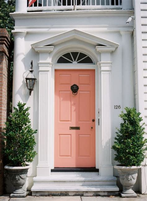 Front Door Canopies With Pillars Best 25 Coral Front Doors Ideas On Coral Door Colored Front Doors And Doors