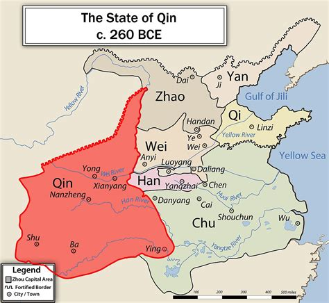 The Of A Dynasty qin state