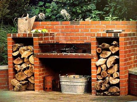 Cool Diy Backyard Brick Barbecue Ideas Amazing Diy Backyard Brick Grill