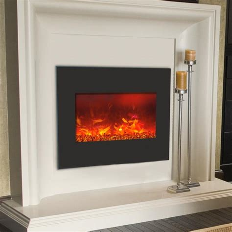 Fireplace Zero Clearance by Amantii Zero Clearance 26 Inch Built In Electric Fireplace