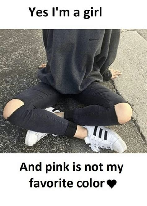 I M A Barbie Girl Meme - yes i m a girl and pink is not my favorite color girl