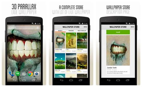 3d app android top 11 wallpaper and background apps for your android