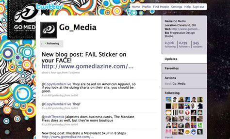 twitter layout maker para pengguna background twitter keren dan menarik run d