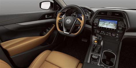 nissan maxima interior 2018 maxima design aerodynamic luxury sedan nissan usa
