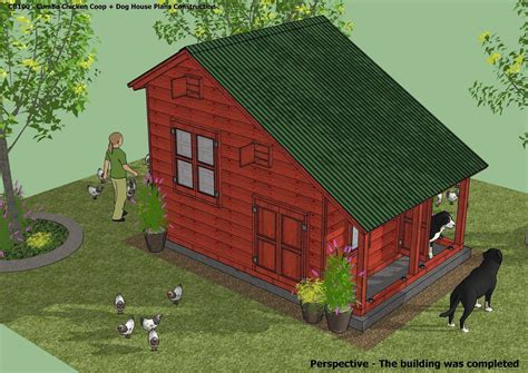 cb combo plans chicken coop plans construction