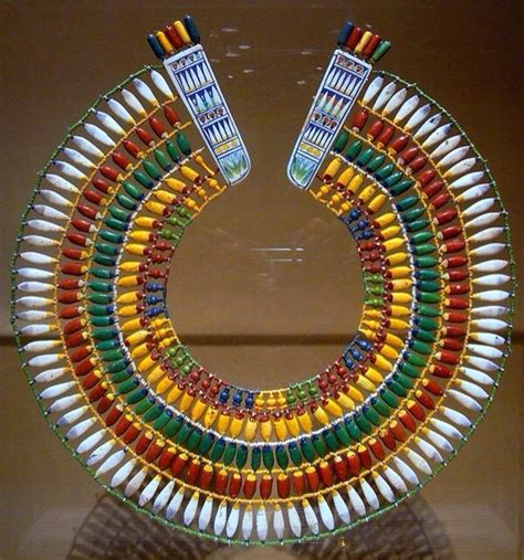 ancient collar template the glass frit and faience travel to eat