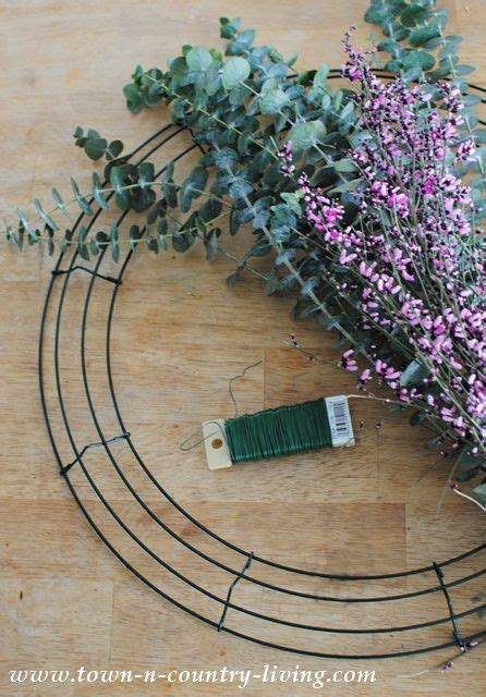 how to make a wreath 17 best ideas about eucalyptus wreath on