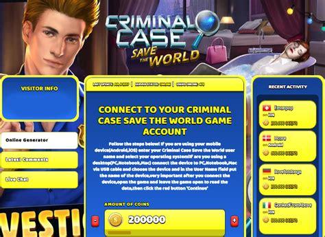 criminal trucchi criminal save the world hack coins