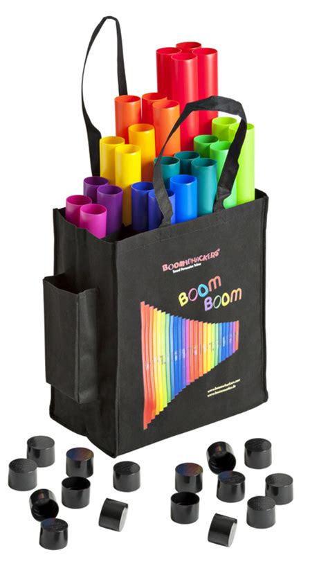 Tas Kalibre Backpack Metronom3 boomwhackers bw set01 move groove set visser sales groothandel distributeur