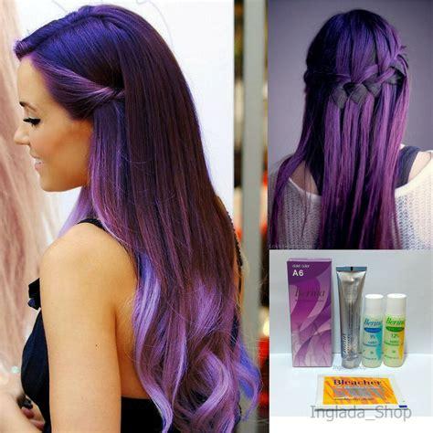 berina  hair color cream  violet color permanant super hair dye ebay