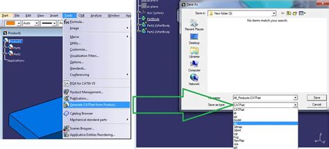 format file igs save export assembly in igs step stl format in catia v5