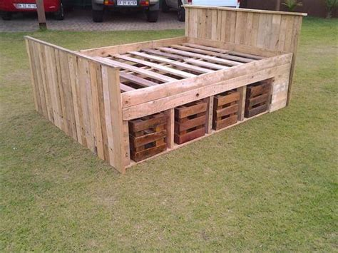 pallet bed frame instructions pallet bed frame design 99 pallets