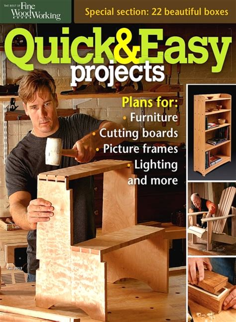 fine woodworking magazine pdf quick woodworking projects
