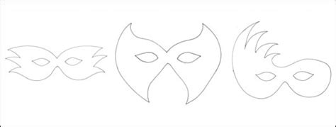 masquerade mask template printable new calendar template