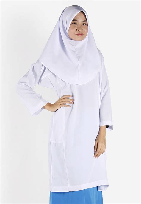 Baju Kantor Blouse White Cklass Size M jony jeny secondary school sleeve blouse only white polyester rayon