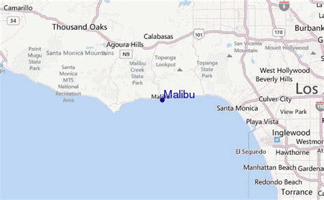 california map malibu malibu surf forecast and surf reports cal la county usa