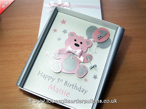 Luxury Handmade Birthday Cards - birthday luxury handmade 1st birthday card