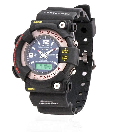 S Shock Sport 2168 mtg sports s shock titanium analog digital buy mtg sports s shock titanium analog