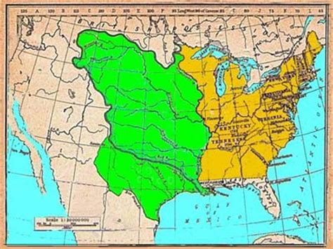 map usa early 1800s early missouri history settlement and the march to