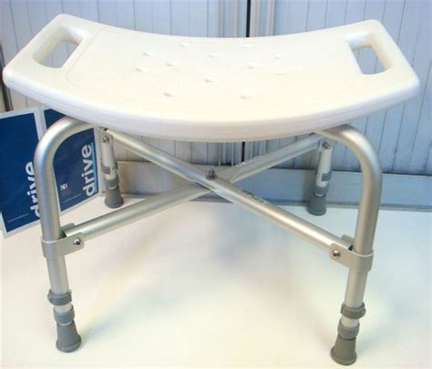 heavy duty shower bench bariatric heavy duty shower seat bench stool for up to 35 stone ebay