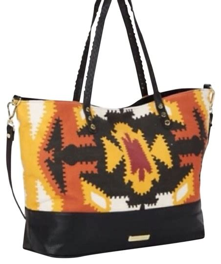 steve madden multi colored see description pic above tribal print tote tradesy