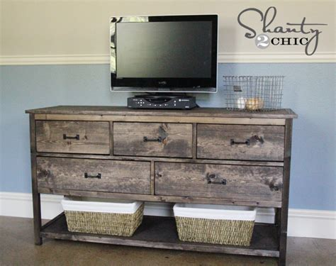 dresser diy pottery barn inspired diy dresser shanty 2 chic