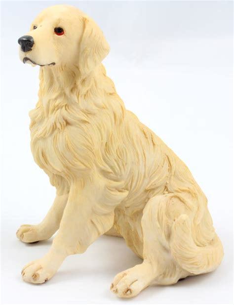 golden retriever figurine figurines