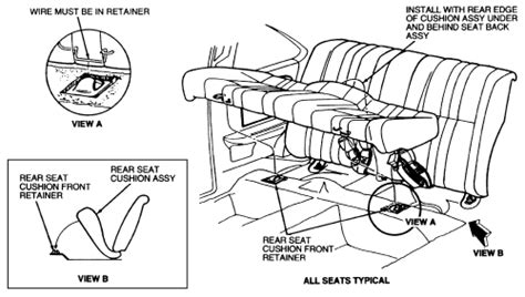 remove the seat and spring northwest edge remove rear seat fixya