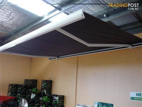 4m awning awning retractable remote motorised 4m x 2 5m verandah