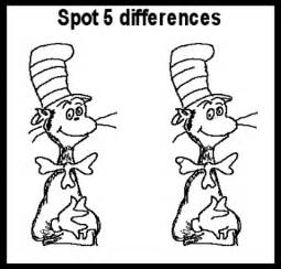 Sheets Spot The Differences Between Two Pictures Sketch Coloring Page sketch template