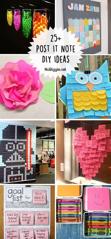 l post decoration ideas 25 post it note diy ideas