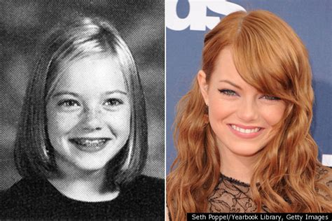 emma stone yearbook emma stone s 6th grade yearbook pic photo huffpost