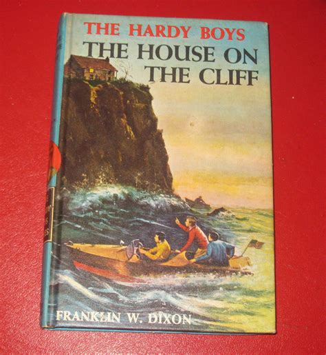 the cliffs books the house on the cliff hardy boys book 2 chapter book 1959
