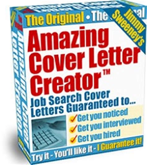 Amazing Cover Letter Creator Amazing Cover Letter Creator Software Our Review