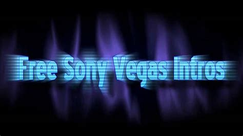 cool sony vegas intro reach out with free template and