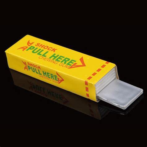 Mainan Jahil Permen Karet Setrum permen karet mainan setrum prank multi color jakartanotebook