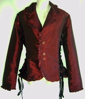 Also Black Lace Blazer Diskon Murah beautiful jacket in smooth burgundy satin with lace side panels black lace burgundy