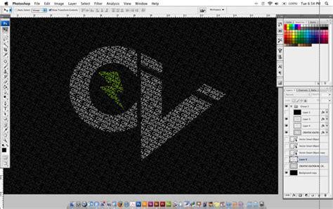 Tutorial Photoshop Membuat Tulisan Keren | tutorial cara membuat desain tipografi tulisan keren
