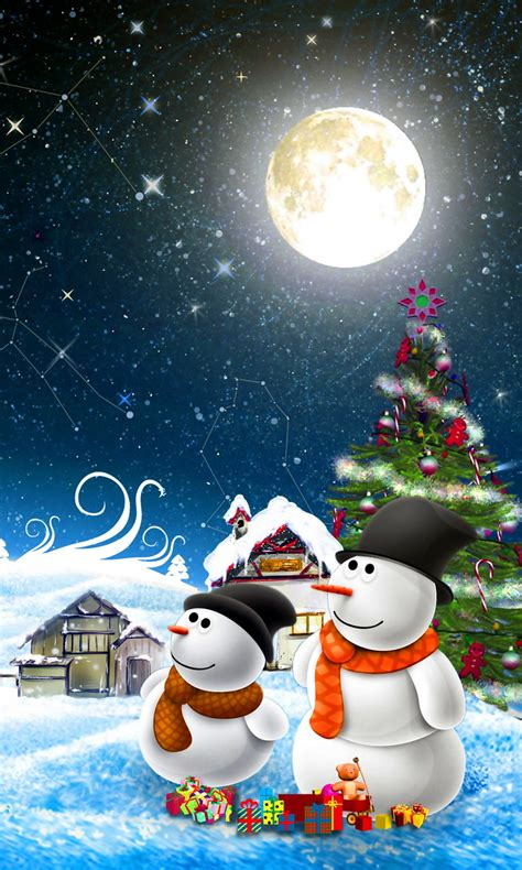 christmas hd wallpaper download android christmas moon lumia 1020 wallpaper 768x1280