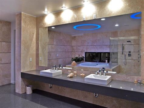 large bathroom mirrors with lights large bathroom mirror led doherty house large bathroom