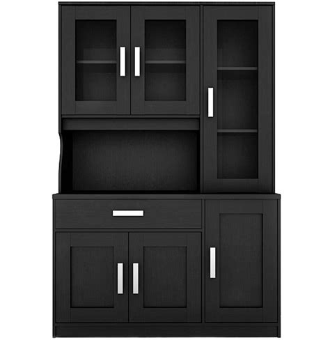 wenge kitchen cabinets buy zona kitchen cabinet in wenge finish by housefull