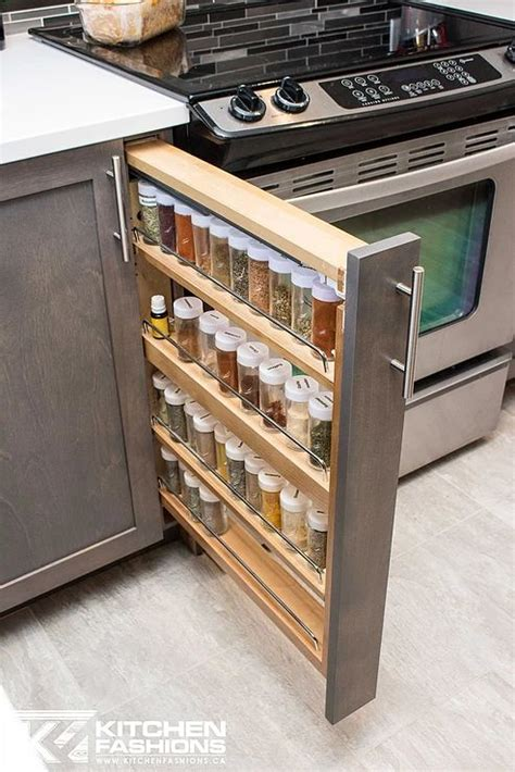 küchenschrank pull out spice rack slim pull out spice rack treasures