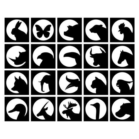 imagenes vectoriales animales gratis colecci 243 n de siluetas de animales salvajes descargar