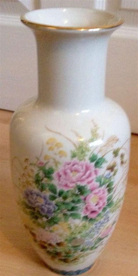 Shibata Vase by Large Vintage Shibata Japanese Floral Decorated Vase 28cm