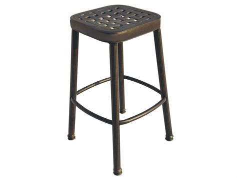 outdoor bar stool cushion covers darlee outdoor living standard backless replacement square