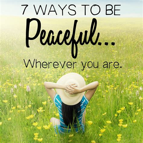 7 Ways To Feel At Home In A New Place by 7 Ways To Be Peaceful Wherever You Are Peaceful Home