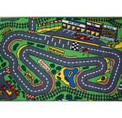 Racing Track Cars Play Mat 100x150 Road Map F1 FORMULA 1 Rug EBay