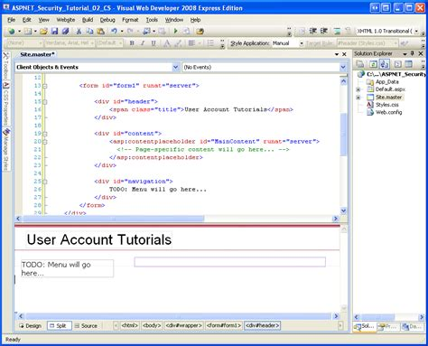 tutorial asp net security an overview of forms authentication vb the asp net site