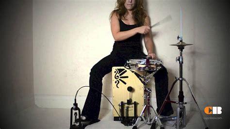 beatbox cajon tutorial cajon pedal cajon drum kit youtube